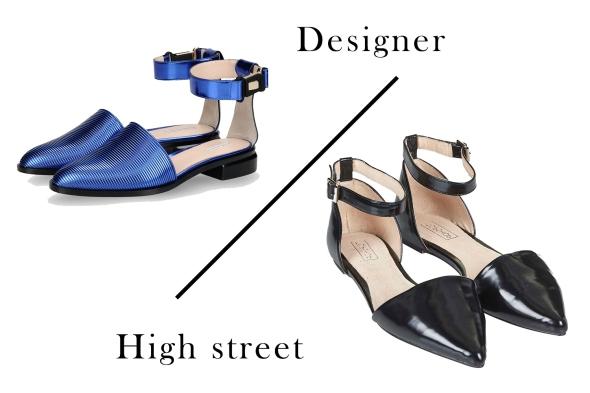 Designer vs High Street Topshop vs Emporio Armani
