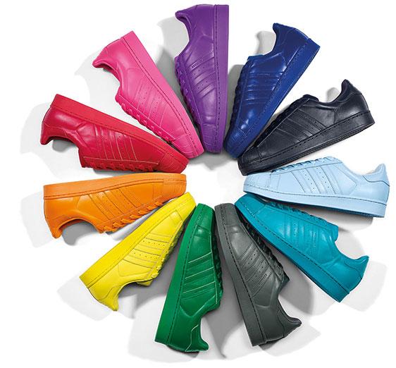 Adidas Superstar Supercolor Fucsia