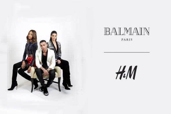Balmain x H&M headline2