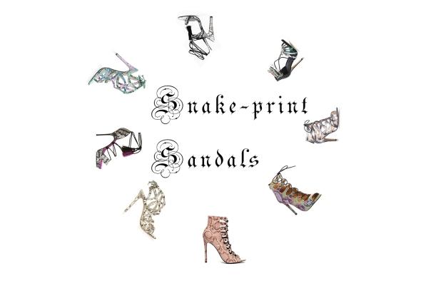 Snake-print