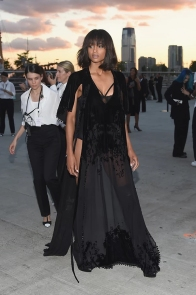 Ciara in Givenchy, outside the venue.
