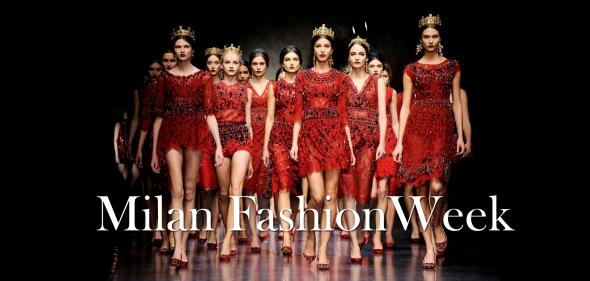 Milan fashion week logo